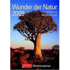 Wunder der Natur, Wochenplaner 2009